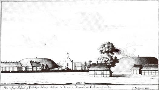 jelling set fra vet i 1773.