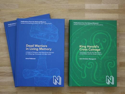 Bøger udgivet i forbindelse med Jellingprojektet.