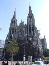 Foto af facaden på St. Ouen-kirken i Rouen. Foto: Bénédicte Guillot.