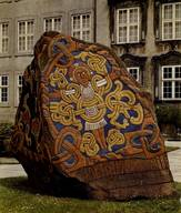 """Broby-Johansen's replica"" in the Palace courtyard of the National Museum. Photo: the National Museum."