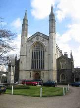 Den danske kirke i London, St. Katherine's nær Regent's Park. Foto: Michael Andersen.